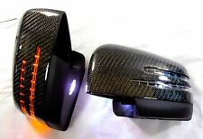 Mercedes Benz W166 ML-Class 12~ON 6K CARBON FIBER Arrow LED Side Mirror Cover