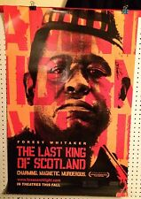 Original Movie Poster Seed The Last King Of Scotland Double Sided 27x40
