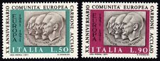 ITALY 1971 European Coal & Steel Community 2v set MNH @S4206