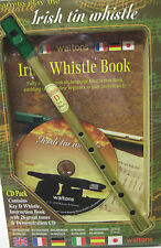 IRELAND WALTONS IRISH WHISTLE PACK WITH WHISTLE, 26 TUNE BOOK, DEMONISTRATION CD