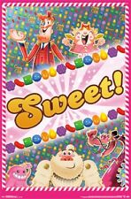 Candy Crush - Sweet POSTER 57x86cm NEW * cute game artwork