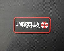 PVC Rubber Resident Evil Umbrella Corporation Morale Patch VELCRO® Brand