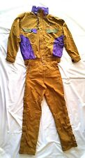 Men's 2 Piece Ski Outfit by Nevica/Jacket Size 42+Pants Size 34/Brown