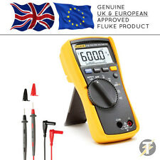 Genuine UK Fluke 114 True RMS Digital Multimeter Including Fluke Test Leads