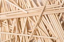 x500 190mm x 6mm Round Wooden Lollipop Cake Pop Sticks Lolly Lollies Crafts