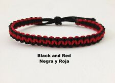 yarn bracelets are adjustable with two colors are perfect combinations