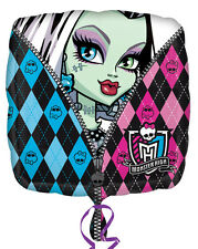 """Monster High Birthday Party Decoration 18"""" Non Message Foil Balloon"""