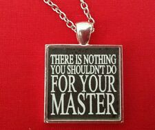 BDSM Necklace Jewelry Day Collar * Your Master * Fetish Lifestyle