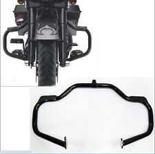 Black Engine Guard Crash Bar For Harley Touring 09-17 Road King Street Glide