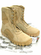 Rocky S2V 101 Vented Special Ops Military Boots Tan Size 12 M - U.S. Navy SEAL