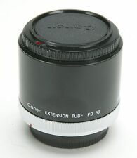 Canon FD 50mm Extension Tube To Shot 1:1 With Canon 100mm Macro FD Lens. Ex.