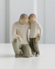 Willow Tree Figurine - Father and Son, 26030, Free P&P, Ideal Father's Day Gift