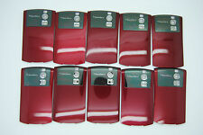 LOT of 10 BLACKBERRY CURVE 8300 8320 RED Battery door cover