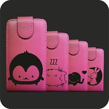 IDM CUSTODIA COVER CASE FUCSIA KAWAII BK PER SAMSUNG GALAXY NEXT S5570