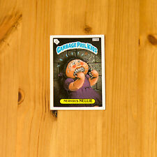 Vintage Garbage Pail Kids 1986 UK Sticker Collector's Card Nervous Nellie 215b
