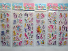 10 x MY LITTLE PONY Stickers Party Bag Fillers Birthday party favours, games