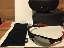 NEW Oakley Radar Path AF Sunglass Polished Black / Slate Iridium Vented  24-409J