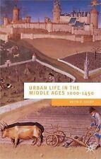 URBAN LIFE IN THE MIDDLE AGES - NEW PAPERBACK BOOK