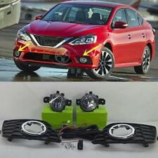 1 set NEW OEM FOG LAMP LIGHT KIT For Nissan Sentra sylphy 2016-