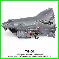"TH400 Turbo 400 Monster Transmission / SS Xtreme Automatic Transmission:4"" TAIL"