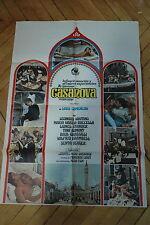 MARIA GRAZIA BUCCELLA  LEONARD WHITING CASANOVA COMENCINI 1969 POSTER ORIGINAL