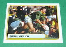 N°2 SOUTH AFRICA MERLIN RUGBY WORLD CUP 1999 PANINI COUPE MONDE