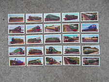 TRADE CARDS BY G.P. TEA - BY COURTESY OF  BRITISH RAILWAYS