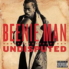 Undisputed [PA] by Beenie Man (CD, 2006, Virgin) **NEW**