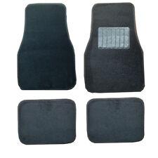 Hyundai Accent Getz Coupe Santa FE Universal Schwarz Tuch Auto Matten Teppiche