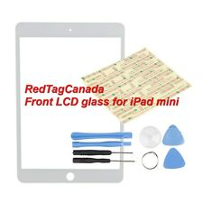 WHITE Outer LCD Screen Glass Lens Replacement for Apple iPad mini +  Tools - CAN
