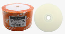 600 TITAN 16X DVD-R White Inkjet HUB Printable Disc [FREE EXPEDITED SHIPPING]