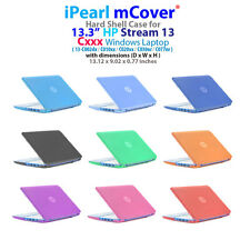 "NEW CLEAR mCover® HARD CASE for 13.3"" HP Stream 13-Cxxx series Windows Laptop"