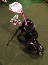"Precise Z5 Kids 32"" Stand Bag, 2 irons, Hybrid, driver and putter"