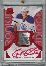 15-16 Upper Deck The Cup Rookie Tag Autograph Red Connor Mcdavid 4/4 RARE