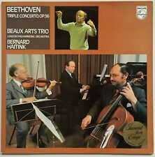 BEAUX ARTS TRIO BEETHOVEN Triple Concerto Op. 56 1977 Holland Philips EX/EX