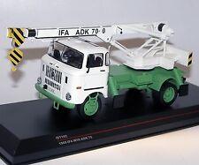 IXO/Ist Models, IST192T, IFA W50L ADK 70, DDR, 1968, grün/weiß, 1/43