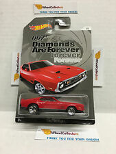 '71 Mustang Mach 1 * Diamonds Are Forever * 2015 Hot Wheels * Bond Series * N123