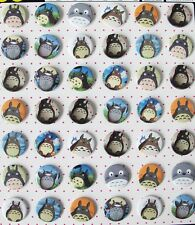 My Neighbor Totoro Decorate Badge Badges Pin Lot of 40pc Dia 3 F1