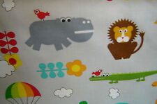 Bungle  Jungle Tim and Beck Childrens Critters Gray By The yard