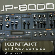 ROLAND JP8000 for KONTAKT 400 .nki PATCHES 3000+ WAV SAMPLES 24BIT AMAZING VALUE