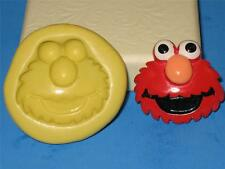 Elmo Silicone Push Mold Food Safe Silicone A107 Cake Topper Chocolate Resin Clay