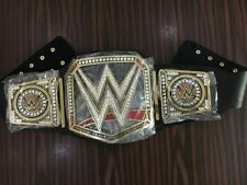 WWE universal championship replica adult belt Gold metal plates
