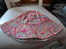Vera Bradley sun hat in retired Capri Melon pattern