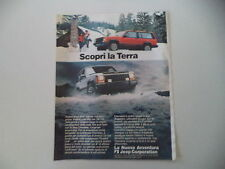 advertising Pubblicità 1986 JEEP CHEROKEE CHIEF