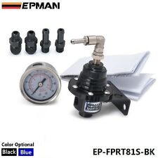 Sport Type S Adjustable Fuel Pressure Regulator FPR Universal JDM Turbo