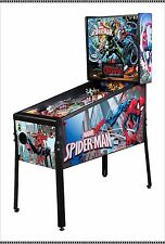 NEW Stern Marvel Spiderman Pinball Machine  Free Shipping IN STOCK!