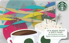 Starbucks Celebration 2014 Gift Card Collectible