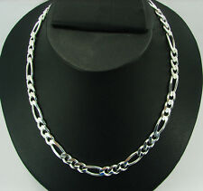 """925 Pure Sterling Silver Beautiful Men Chain 10 mm 20 """" - 940"""