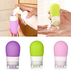 Silicone Travel Packing Bottle Press Bottle For Lotion Shampoo Bath Container