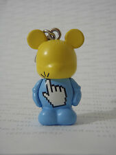 "Disney Vinylmation Occupation Computer IT Tech MOUSE CLICK Mickey 1.5"" Jr Figure"